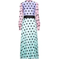 3/4 Length Dress - Purple - Olivia Rubin Dresses found on MODAPINS from lyst.com for USD $230.00