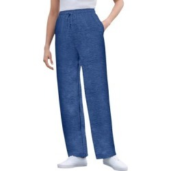 Plus Size Women's Better Fleece Sweatpant by Woman Within in Heather Navy (Size 3X) found on Bargain Bro Philippines from fullbeauty for $19.99