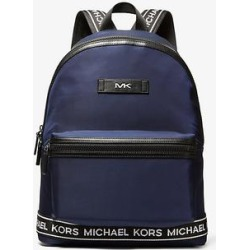 Michael Kors Kent Sport Nylon and Logo Backpack Blue One Size found on Bargain Bro Philippines from Michael Kors for $298.00