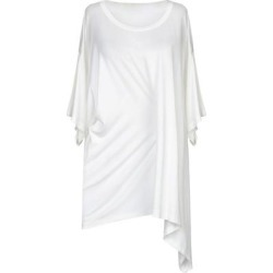 T-shirt - White - MM6 by Maison Martin Margiela Tops found on Bargain Bro from lyst.com for USD $193.04