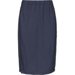 Knee Length Skirt - Blue - Boglioli Skirts found on MODAPINS from lyst.com for USD $77.00