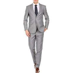 petite Braveman Men's Slim-Fit 2pc Suits (Cool Blue - 48L/42W)(Polyester, Solid) found on Bargain Bro Philippines from Overstock for $79.99