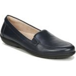 Women's Kacy Loafer by Naturalizer in Navy Leather (Size 9 M) found on Bargain Bro India from Woman Within for $79.99