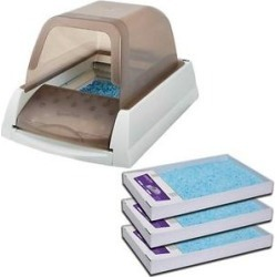 ScoopFree Automatic Cat Litter Box & ScoopFree Premium Scented Cat Litter found on Bargain Bro from Chewy.com for USD $170.16