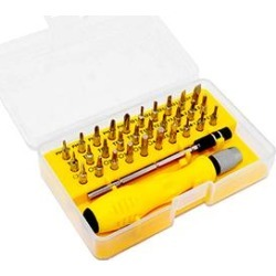 Tooley Tool Sets Yellow - Yellow 32-Piece Small Bit Disassembly Repair Tool Set found on Bargain Bro Philippines from zulily.com for $12.99