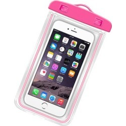 Shou Cellular Phone Cases 30 - Rose Luminous Waterproof Phone Bag found on Bargain Bro from zulily.com for USD $5.31