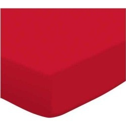 Harriet Bee Solid Jersey KnitPlay Yard SheetCotton in Red, Size 36.0 W x 36.0 D in   Wayfair PP3636-RED found on Bargain Bro Philippines from Wayfair for $27.99
