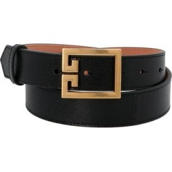 '2g' Belt - Black - Givenchy Belts found on Bargain Bro from lyst.com for USD $169.48