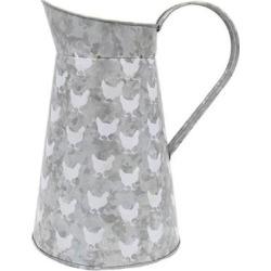 Dennis East 11975 - Chicken Vase Size: 8.5