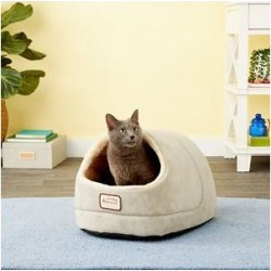 Armarkat Cave Shape Covered Cat & Dog Bed, Sage Green/Beige found on Bargain Bro Philippines from Chewy.com for $21.99