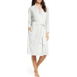 Sierra Brushed Terry Robe - Gray - Natori Nightwear found on Bargain Bro from lyst.com for USD $59.28