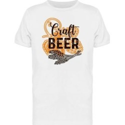 Craft Beer Alcohol Menu Tee Men's -Image by Shutterstock (4XL), White found on MODAPINS from Overstock for USD $20.99