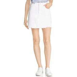 DL1961 Womens Georgia Mini Skirt Denim Fringe - Presley found on Bargain Bro India from Overstock for $37.84