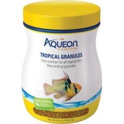 Aqueon Tropical Granules Tropical Fish Food, 6.5 oz.