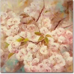 Trademark Fine Art Rose Bush I Canvas Wall Art, White, 18X18 found on Bargain Bro Philippines from Kohl's for $75.99