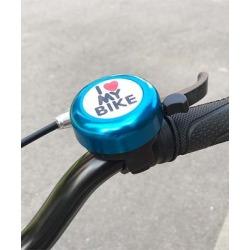 Tech Zebra Bike Accessories Blue - Blue 'I Love My Bike' Handlebar Bell found on Bargain Bro from zulily.com for USD $6.83