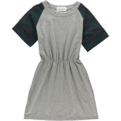 Cynthia Rowley Womens Jersey Plaid Shirt Dress, Grey, X-Large found on MODAPINS from Overstock for USD $32.12