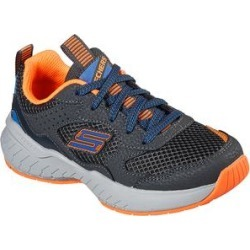Skechers Boys' Sneakers CCOR - Gray & Orange Power Sonic Sneaker - Boys found on Bargain Bro from zulily.com for USD $32.67