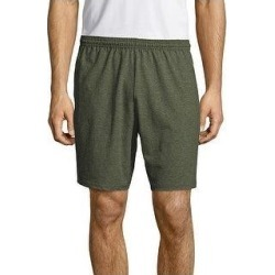petite Hanes Men's Jersey Pocket Short (Camo Green - S), Green Green found on Bargain Bro from Overstock for USD $13.22