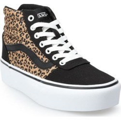 Vans Ward Hi Women's Leopard Pattern Skate Shoes, Size: 11, Black found on Bargain Bro from Kohl's for USD $60.79