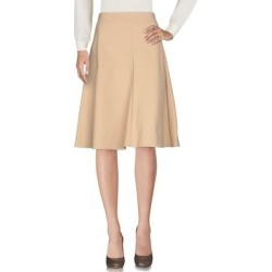 Knee Length Skirt - Natural - Patrizia Pepe Skirts found on Bargain Bro Philippines from lyst.com for $97.00