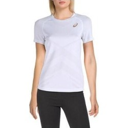 Asics Womens T-Shirt Tennis Moisture Wicking (White - XS), Women's(polyester) found on MODAPINS from Overstock for USD $14.04