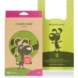 Earth Rated PoopBags Handle Bags, 120 handle bags, scented found on Bargain Bro from Chewy.com for USD $5.31
