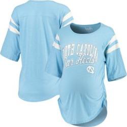 North Carolina Tar Heels Touch by Alyssa Milano Women's Maternity Linebacker Half-Sleeve T-Shirt - Blue found on Bargain Bro India from Fanatics for $39.99