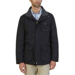 Nautica Mens Multi-Pocket Parka Coat (Black - Small), Men's(polyester, solid) found on MODAPINS from Overstock for USD $103.75