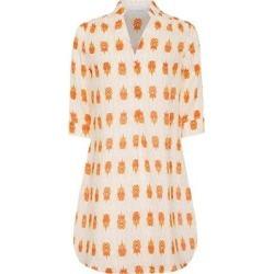 Linen Decima Dress Beetle - Orange - Pink House Mustique Dresses found on Bargain Bro from lyst.com for USD $180.12