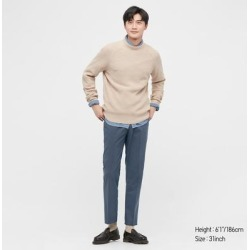 UNIQLO Men's Ultra Light Pants (Cotton-Like), Blue, 27 in. found on Bargain Bro India from Uniqlo for $29.90