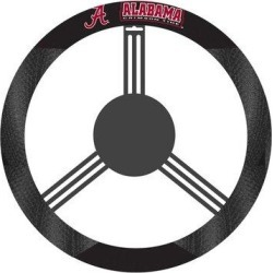 NeoPlex NCAA Steering Wheel CoverPolyester/Polyester blend in Black, Size 15.0 H x 15.0 W x 1.0 D in | Wayfair K58501= found on Bargain Bro Philippines from Wayfair for $21.99