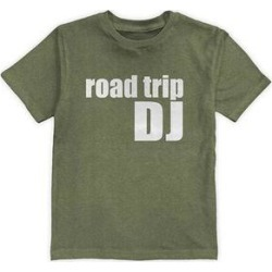 Urban Smalls Boys' Tee Shirts Heather - Heather Forest 'Road Trip DJ' Tee - Toddler & Boys found on Bargain Bro from zulily.com for USD $9.11