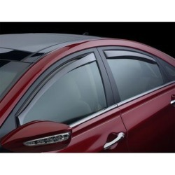 WeatherTech Side Window Vent, Fits 2000-2005 Cadillac DeVille, Material Type Molded Plastic, Tint Color Light, Model 72245 found on Bargain Bro Philippines from northerntool.com for $94.95