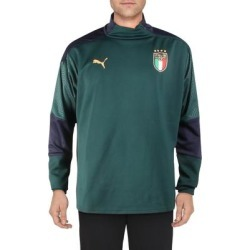 Puma Mens 1/4 Zip Pullover Fitness Activeear - Ponderosa Pine/Peacoat - XXL found on Bargain Bro from Overstock for USD $18.65