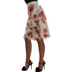 Dolce & Gabbana Floral Patterned Pencil Straight Women's Skirt (it40-s), Multicolor(polyester) found on Bargain Bro India from Overstock for $424.65
