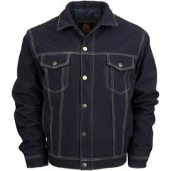 StS Ranchwear Western Jacket Boys Brumby Softshell Button Navy (XS), Boy's, Blue(denim) found on Bargain Bro Philippines from Overstock for $110.00