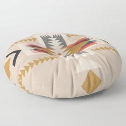 Floor Pillow | Goldenflower by Urban Wild Studio Supply - ROUND - 30