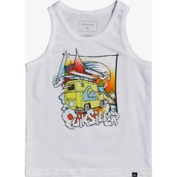 Quiksilver Boys' Tank Tops White - White 'Quiksilver' Quik Adventure Tank - Toddler & Boys found on Bargain Bro India from zulily.com for $8.84