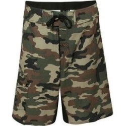 Diamond Dobby Board Shorts (30 - Green Camo), Men's, Green Green, Burnside(polyester) found on Bargain Bro Philippines from Overstock for $41.95