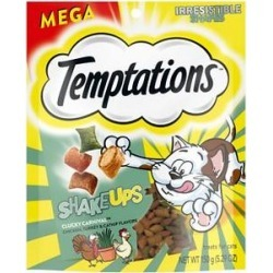 Temptations ShakeUps Clucky Carnival Flavor, Chicken, Turkey & Catnip Flavor Cat Treats, 5.29-oz bag found on Bargain Bro Philippines from Chewy.com for $3.29