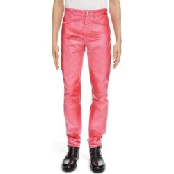 Slim Fit Denim Trousers - Pink - Givenchy Jeans found on Bargain Bro from lyst.com for USD $638.40