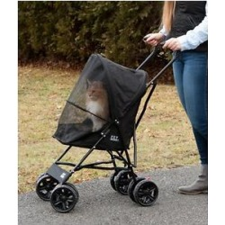 Pet Gear Travel Lite Pet Stroller, Black found on Bargain Bro Philippines from Chewy.com for $68.97