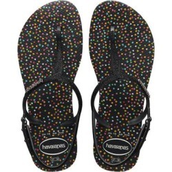 Havaianas Women's Sandals BLACK - Black Twist Glitter Carnaval Sandal - Women found on MODAPINS from zulily.com for USD $24.99