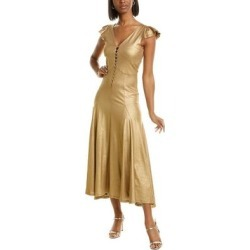Mes Demoiselles Charlize Silk-Blend Maxi Dress found on MODAPINS from Overstock for USD $74.24