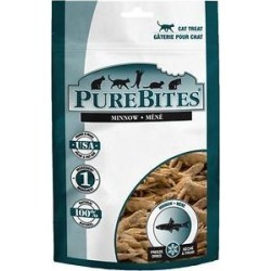 PureBites Minnow Freeze-Dried Cat Treats, 1.09-oz bag found on Bargain Bro Philippines from Chewy.com for $2.39