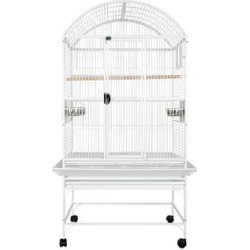 A&E Cage Company White Palace Dometop Bird Cage, 32