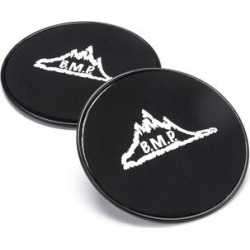 Black Mountain Products Strength Training Black - Black Gliding Disc Core Exercise Slider- Set of Two found on Bargain Bro Philippines from zulily.com for $10.99