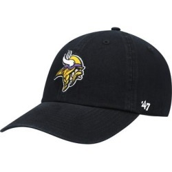 Minnesota Vikings '47 Secondary Clean Up Adjustable Hat - Black found on Bargain Bro Philippines from Fanatics for $24.99