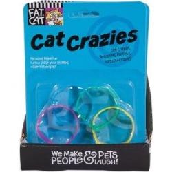 Fat Cat Crazies Playrings Cat Toy